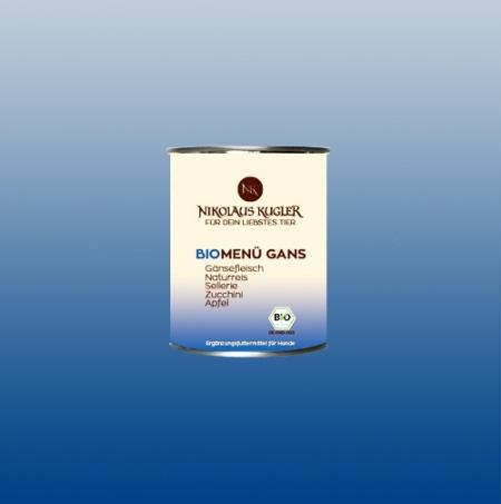 Nikolaus Kugler Bio Hundefutter BioMenu-Gans 800g