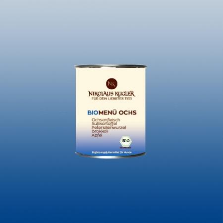 Nikolaus Kugler Bio Hundefutter BioMenu-Ochs 800g
