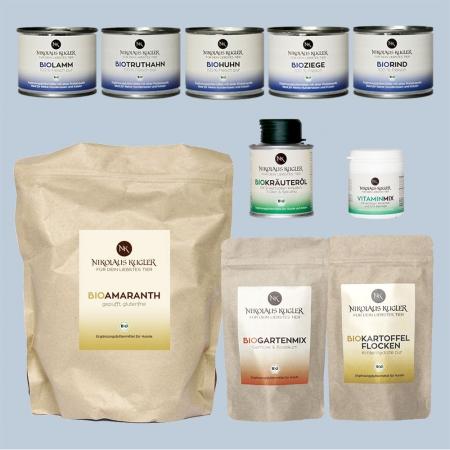 Nikolaus-Kugler Testpaket-4-Komponenten-Bio-Futter-Prinzip mit Amaranth